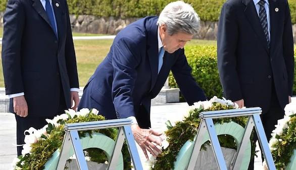 Participación histórica de EEUU en un homenaje a las víctimas de Hiroshima