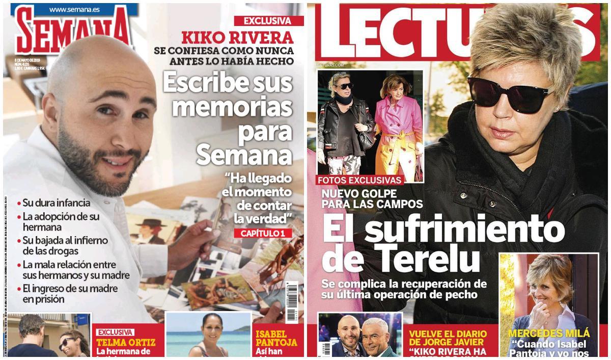 Terelu Campos vuelve al quirófano y Kiko Rivera escribe sus memorias