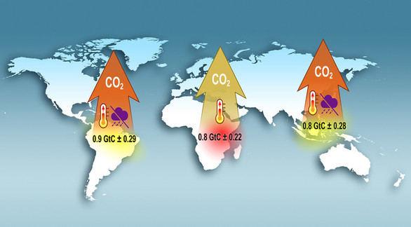 La NASA muestra al mundo cómo se ve el CO2 desde el espacio