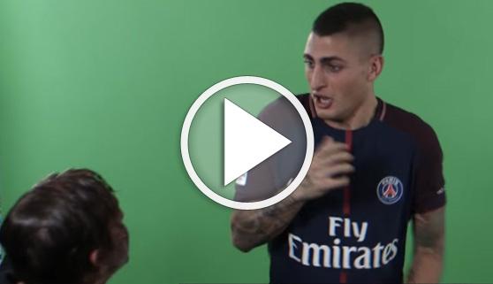 Vídeos virales. El susto que se han llevado los jugadores del PSG