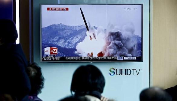 Pyongyang eleva la tensión con un nuevo lanzamiento de misiles
