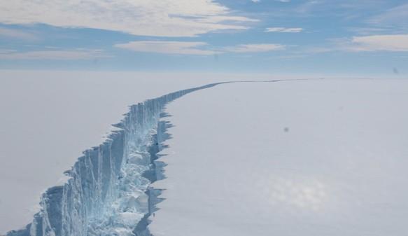 La ruptura de las grandes barreras de hielo causará un aumento en el nivel del mar