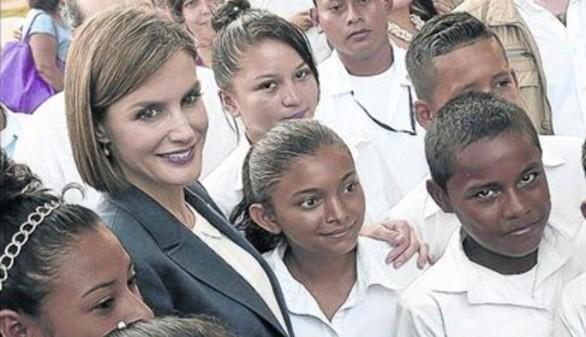 La Reina espera tener pronto más oportunidades de volver a apoyar cooperación
