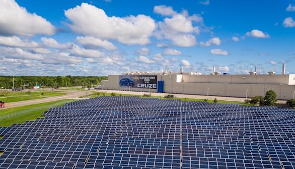 General Motors solo empleará energías renovables en 2050