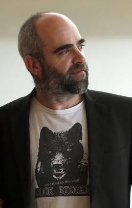 Luis Tosar durante la presentación de 'El Desconocido' en San Sebastián (Foto: Efe)