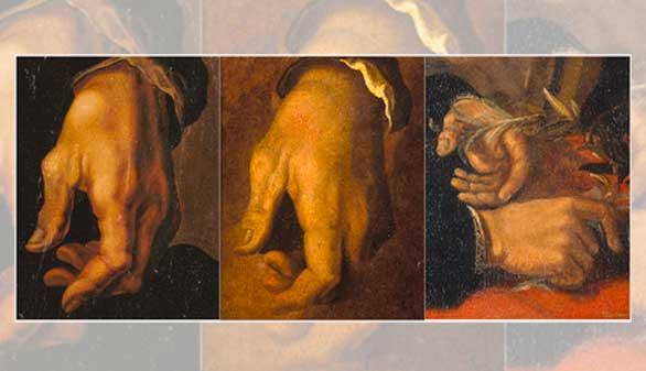 Las manos de Miguel Ángel desvelan que padeció artritis