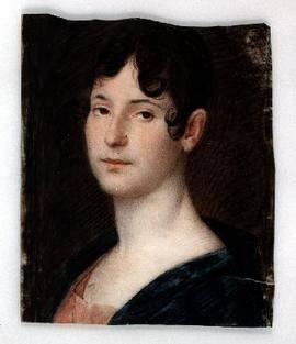 Miniatura anónima de Josefa Tudó, condesa de Castillofiel (Foto: Museo Lázaro Galdiano)