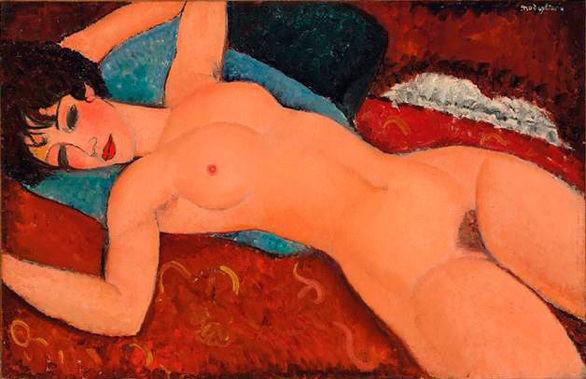 Un desnudo de Modigliani de 100 millones de dólares