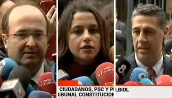 Sánchez y Rivera quieren copar la iniciativa del pacto por la unidad