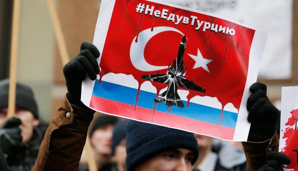 Rusia cree que el derribo de su bombardero fue