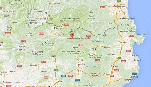 Muere una niña de 12 años alcanzada por un rayo en Gerona