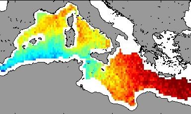 Una misión de la ESA logra medir la salinidad del Mediterráneo