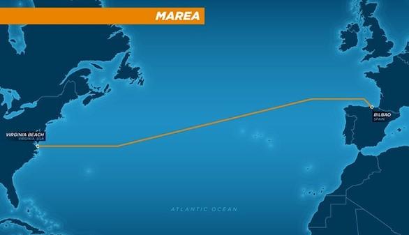 Un megacable submarino unirá EEUU y España a 160 terabits por segundo