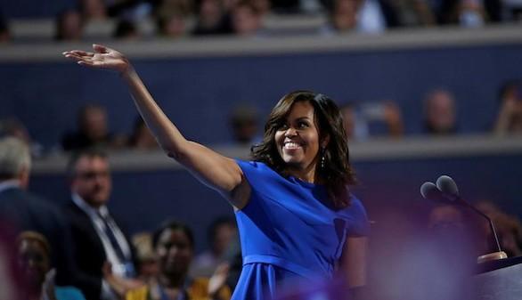 Michelle Obama, aclamada en la Convención Demócrata