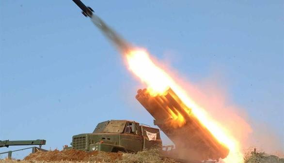 Pyongyang responde con una demostración de fuerza: seis misiles de corto alcance