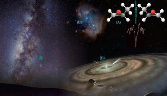 Una molécula hallada en el espacio exterior, clave sobre el origen de la vida