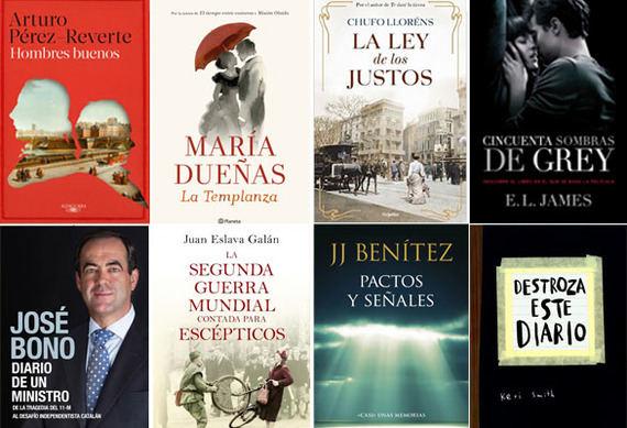 Los libros más vendidos en marzo