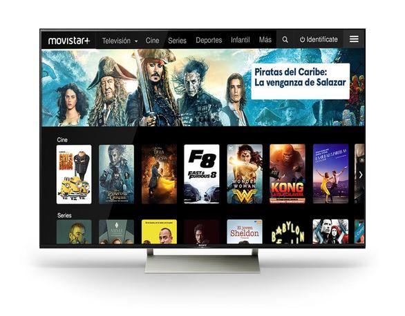 Movistar+ se incorpora a los televisores Sony