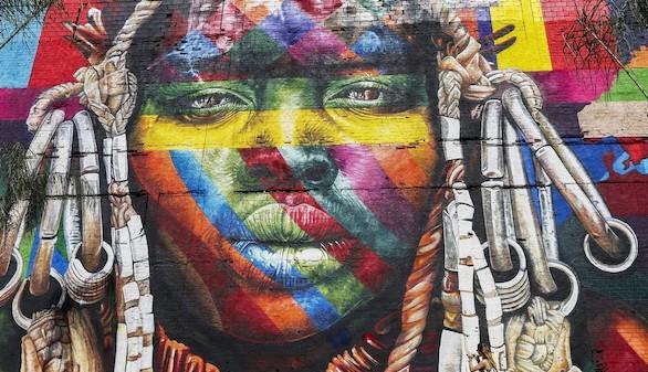 Más récords de los Juegos de Río: así es el mural más grande del mundo