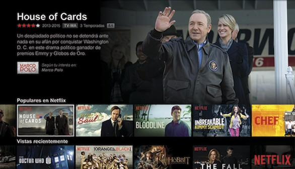 El videoclub online Netflix desembarca en España el 20 de octubre