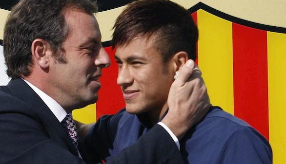 La Fiscalía pide procesar a Neymar, a su padre y a Sandro Rosell