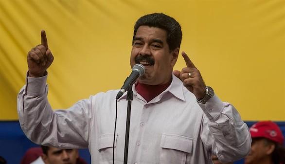 Maduro acusa a la derecha española de financiar a opositores