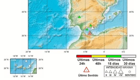 Un nuevo terremoto en el mar de Alborán despierta a los melillenses