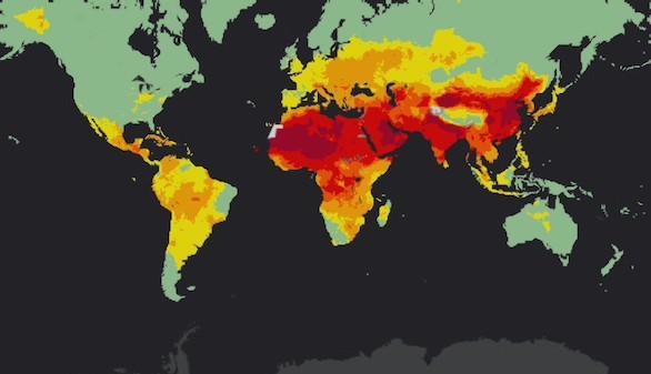 Más del 90 % de la población mundial respira aire contaminado