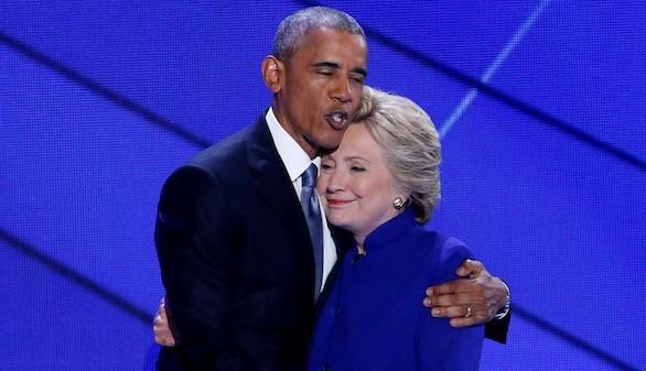 Obama celebra a Clinton como la esperanza en el futuro de EEUU