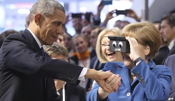 Obama, junto a Merkel, vuelve a apostar por una