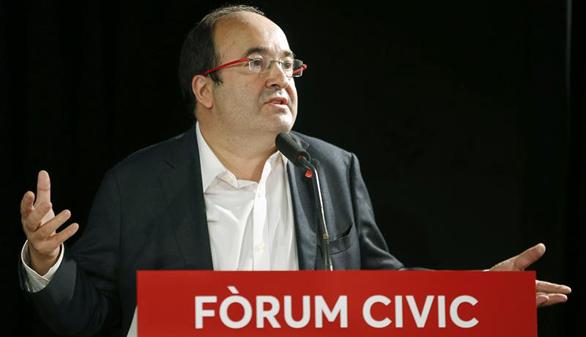 Iceta amenaza con romper con el PSOE si se abstiene a la investidura de Rajoy