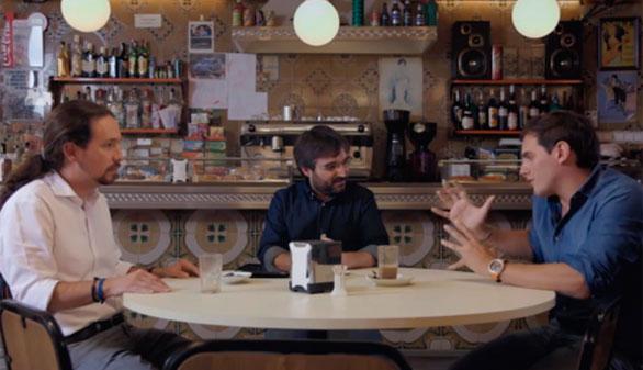 Iglesias y Rivera protagonizan su primer cara a cara televisivo