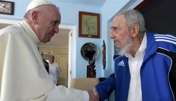 El Papa Francisco se reunió en La Habana con Fidel Castro