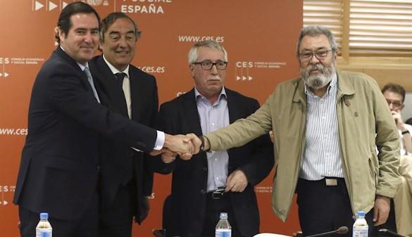 Sindicatos y patronal firman un pacto salarial