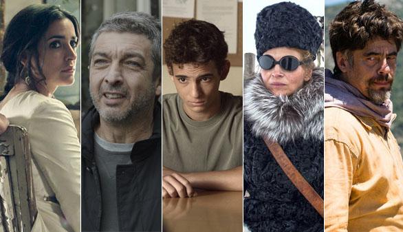 Las cinco nominadas a mejor película en la 30 edición de los Goya
