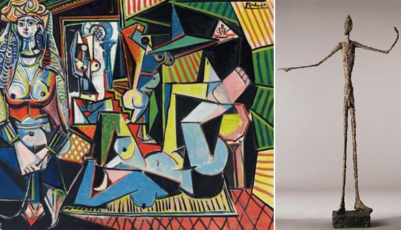 Dos obras de Picasso y Giacometti, las más caras vendidas en una subasta
