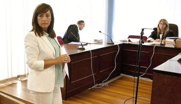 Ingresa en prisión la exalcaldesa de Jerez Pilar Sánchez