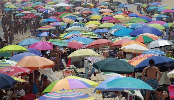 Vuelve el calor extremo tras la breve tregua del fin de semana
