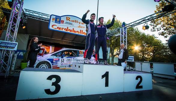 El Peugeot España Racing Team, de nuevo campeón del 208 Rally Cup