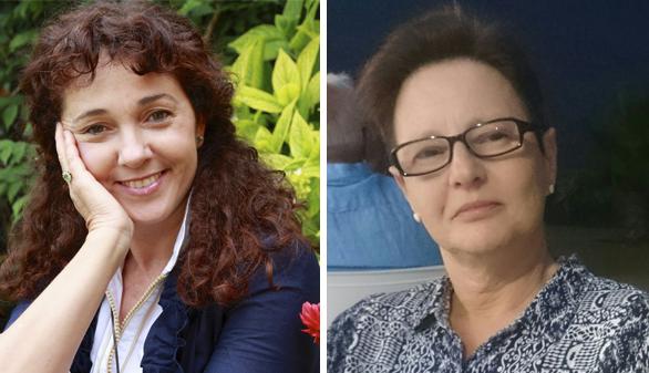Elisa Rueda y María Paz Cerrejón, XVIII Premio de Poesía 'Paul Beckett'