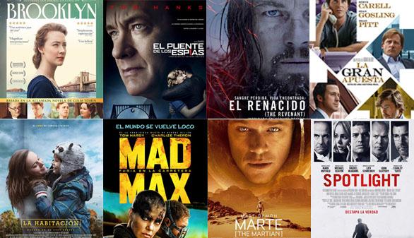 'El Renacido', 'Spotlight' y 'La gran apuesta', favoritas a los Oscar