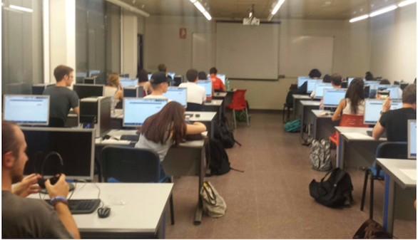 Una treintena de alumnos de 8 nacionalidades en la prueba piloto del SIELE