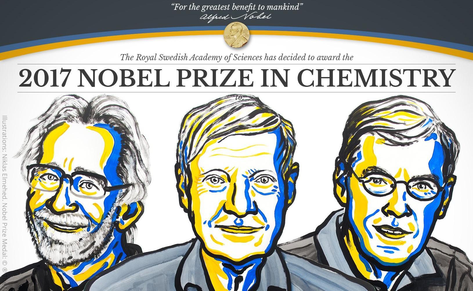 Nobel de Química para tres investigadores de biomoléculas