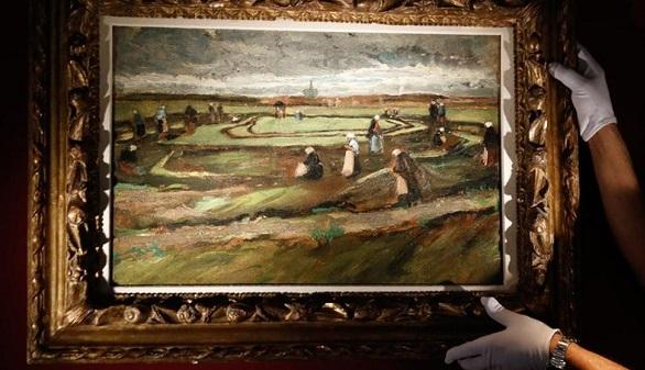 Raccommodeuses de filets dans les dunes, subastado por 7 millones de euros