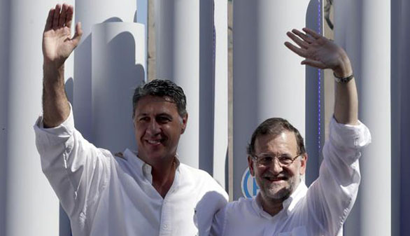 Rajoy advierte de que las urnas