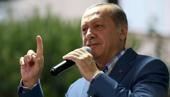 Erdogan acusa a Alemania de ayudar al terrorismo