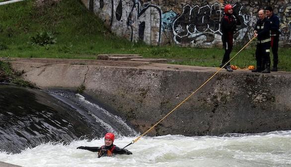 Localizado el cadáver del menor que fue arrastrado por el río Sil