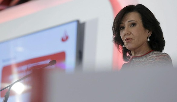 El Santander gana 2.911 millones de euros hasta junio