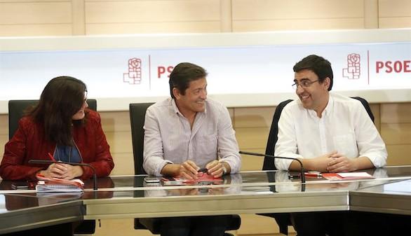 La gestora del PSOE nombra nuevos portavoces