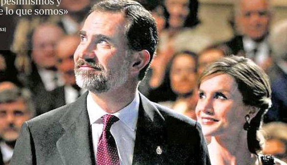 El Rey llama al optimismo; el PSOE no lo encuentra